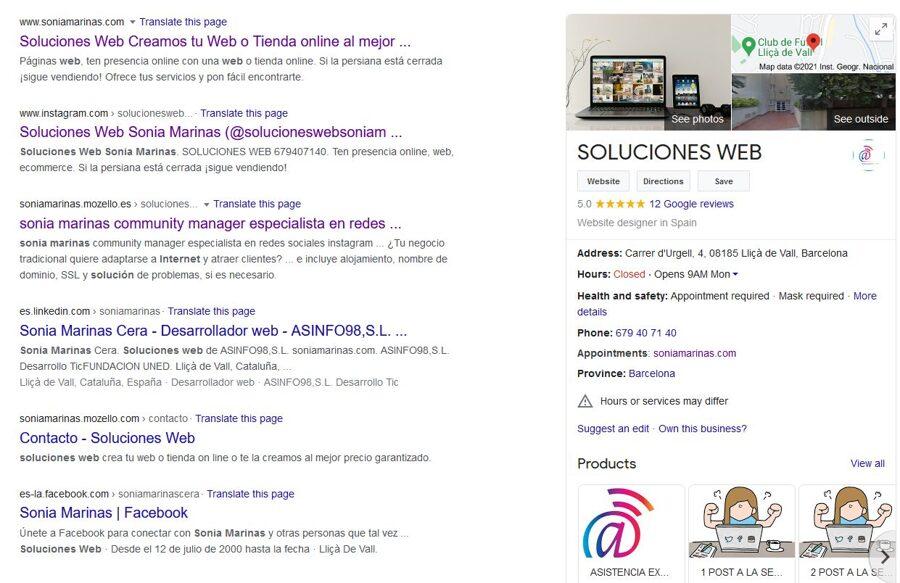 CREAMOS TU FICHA DE NEGOCIO EN GOOGLE MY BUSINESS